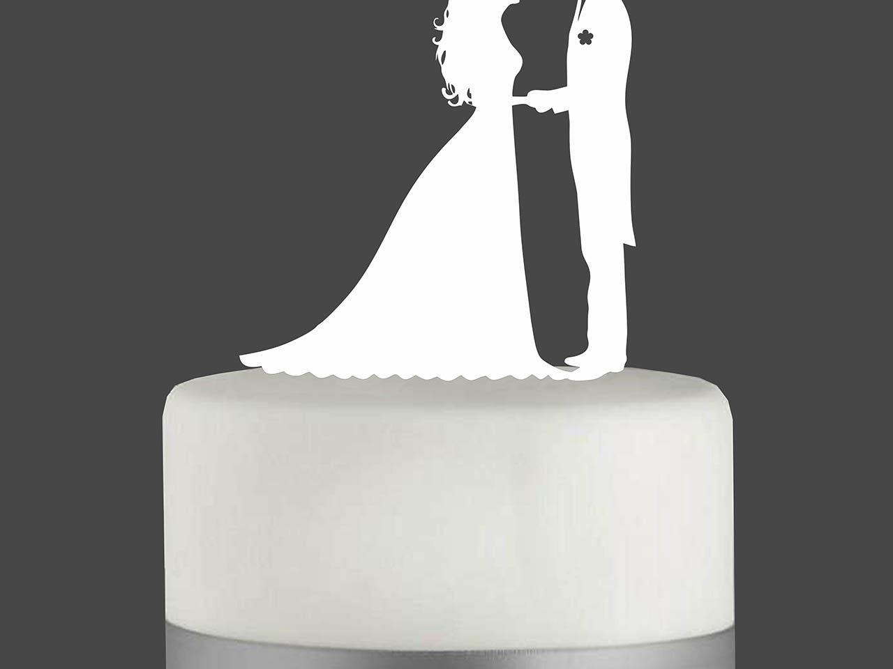 """Cake Topper """"Hochzeitspaar"""""""