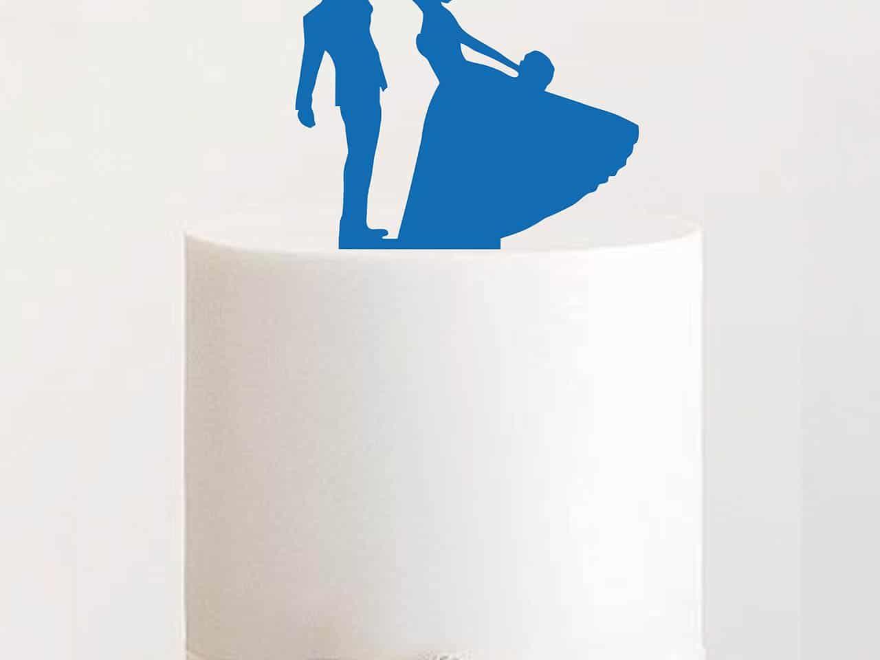 "Cake Topper ""Tanzendes Ehepaar"""