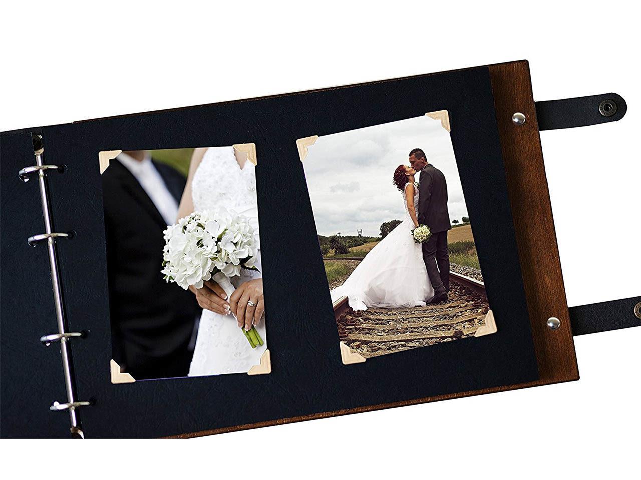 "Holz-Fotobuch ""Scrapbook"" - Personalisiert"