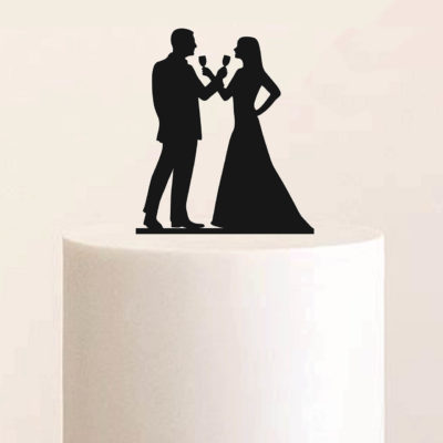 """Cake Topper """"Cheers"""""""