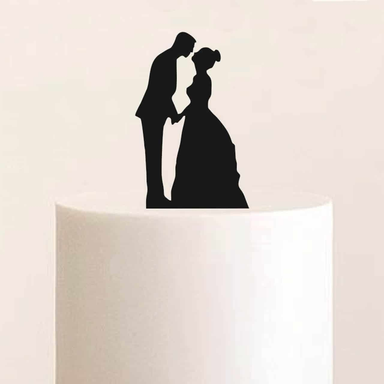 """Cake Topper """"Ehemann und Ehefrau"""""""