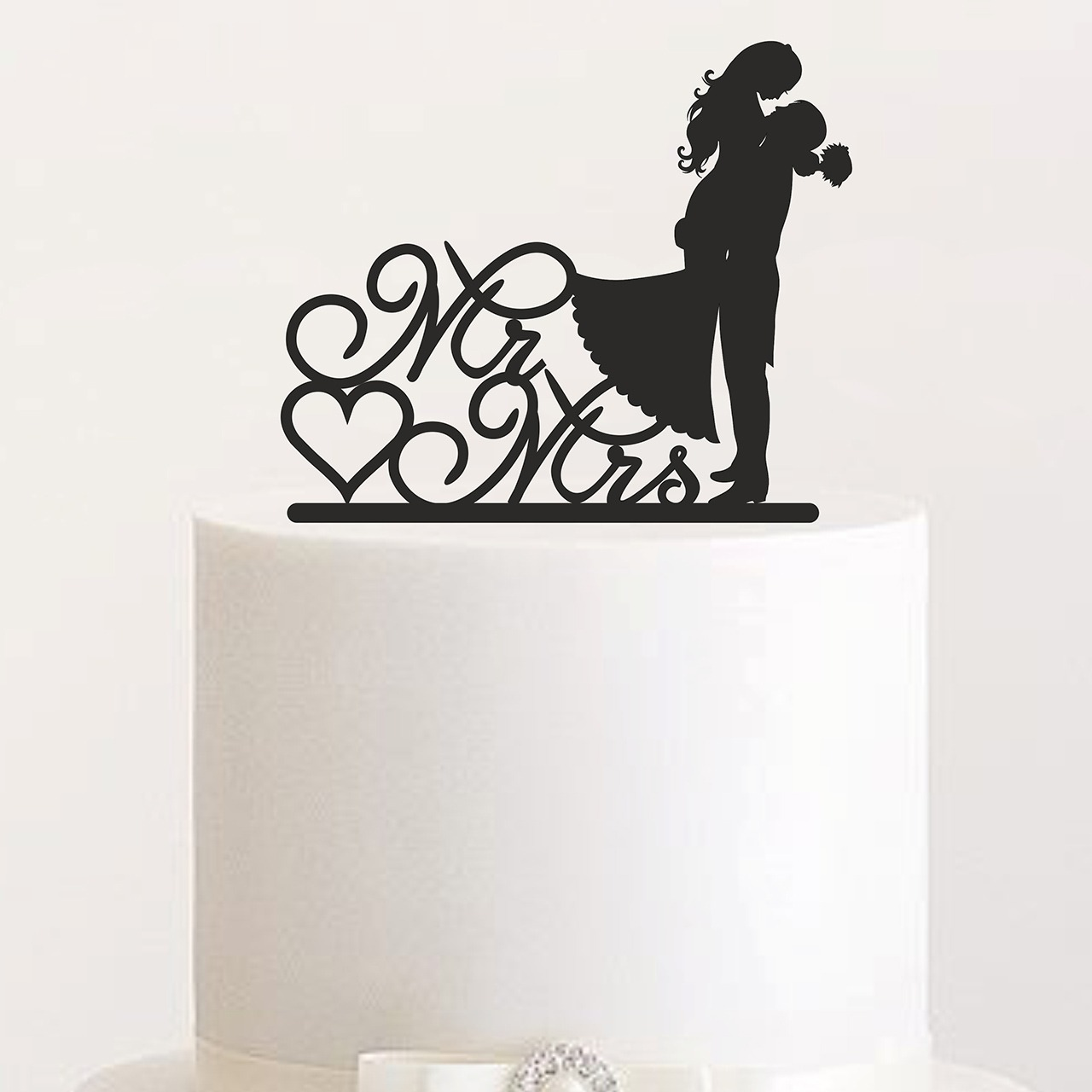 "Cake Topper ""Mr & Mrs Hebefigur"""