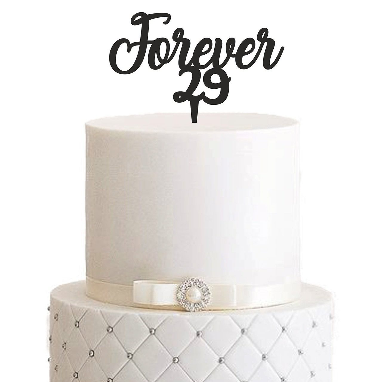 """Cake Topper """"Forever"""" – Personalisiert"""