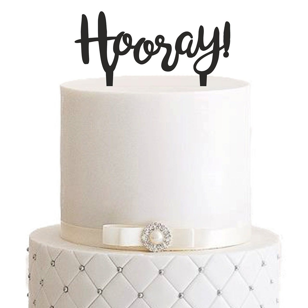 "Cake Topper ""Hooray"""