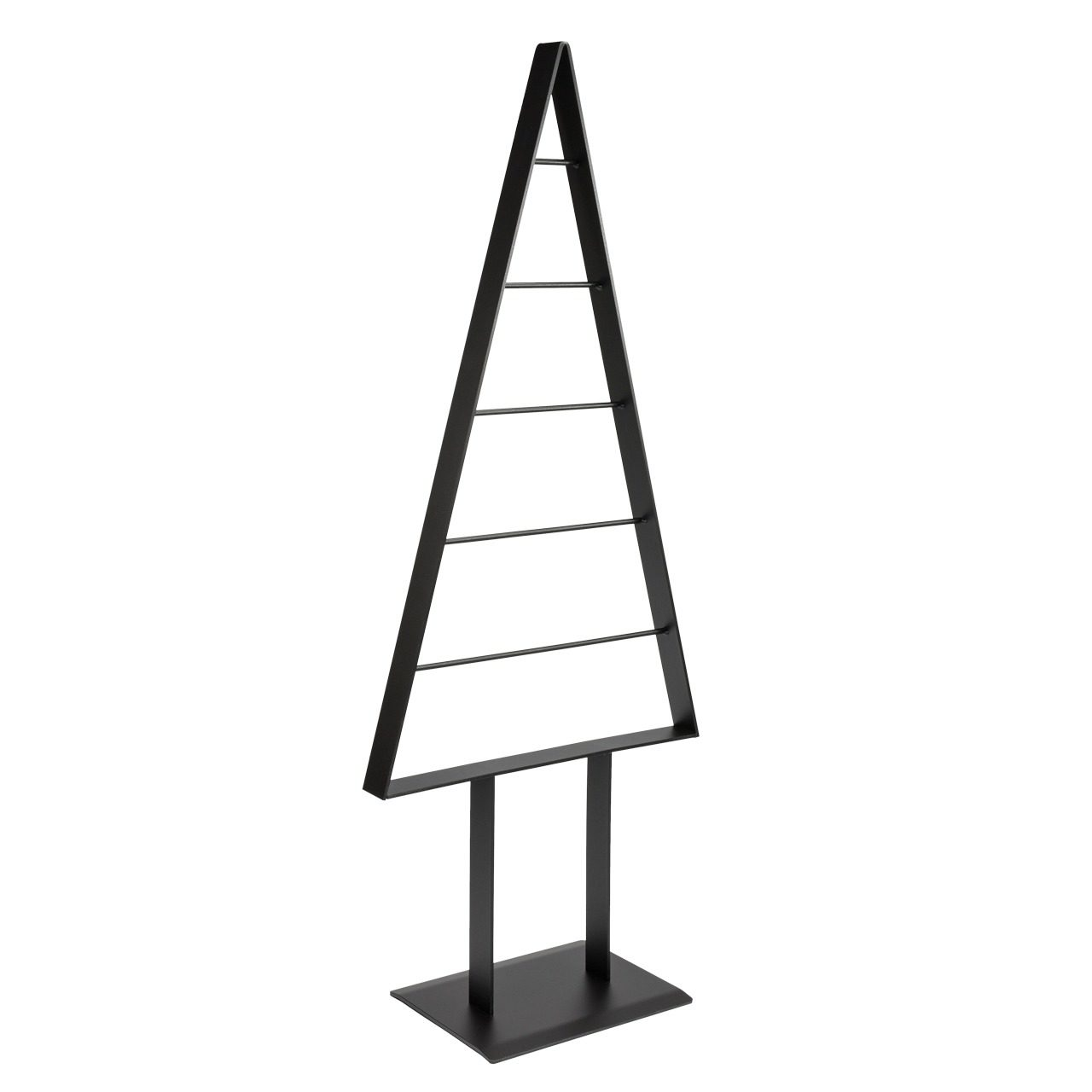 Metall-Weihnachtsbaum (Anthrazit-Pearl)