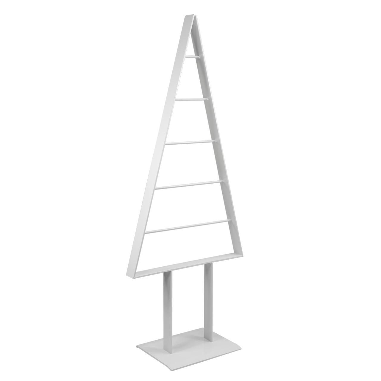 Metall-Weihnachtsbaum (Weiß)