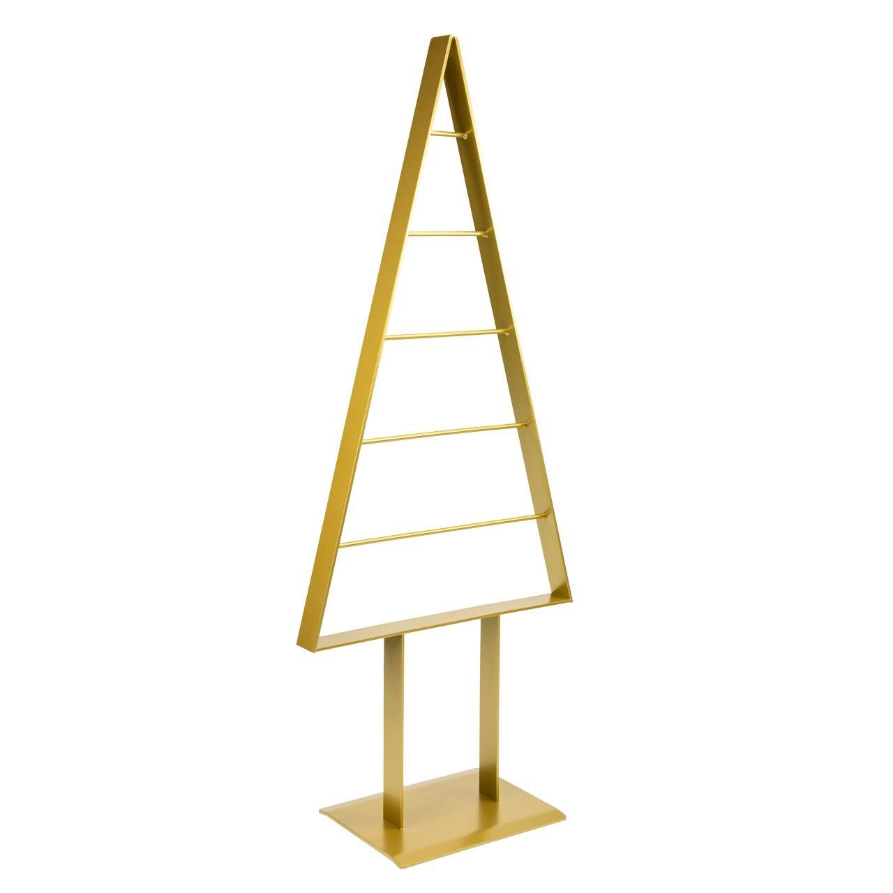 Metall-Weihnachtsbaum (Gold)