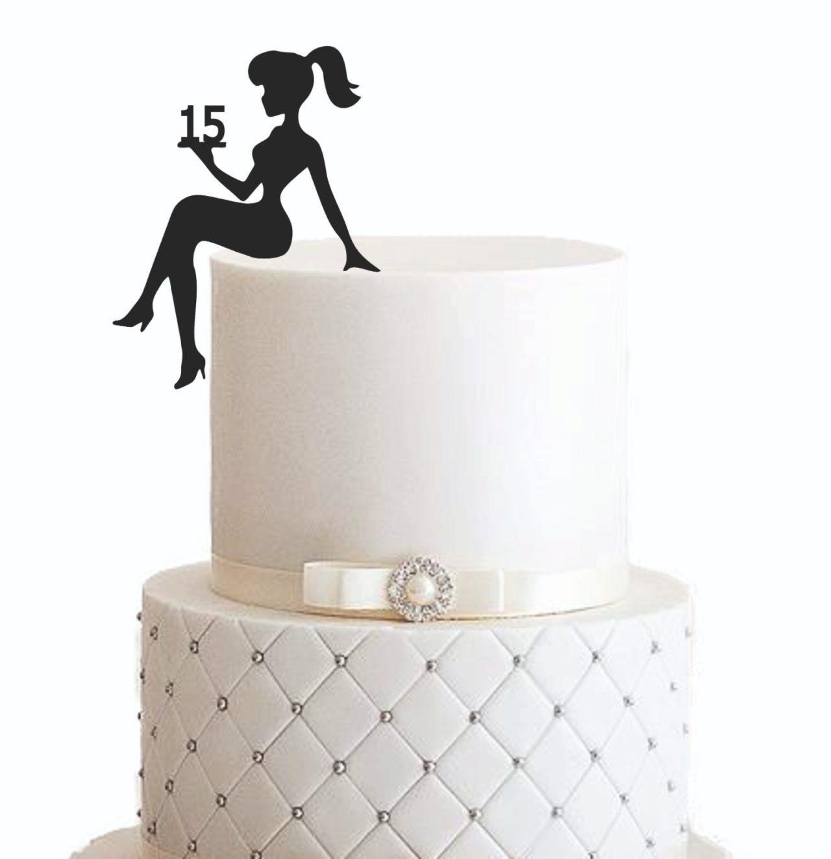"Cake Topper ""Geburtstagsdame"" – Personalisiert"